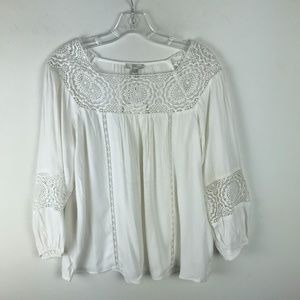 Joie Bellange Embroidered Blouse NWT FLAW #729